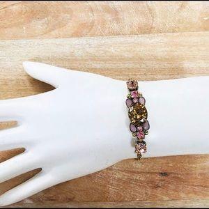 Sorrelli Semi Precious & Crystal Slider Bracelet